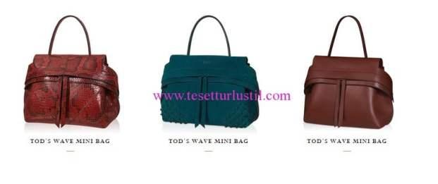 Tods 2016 mini kol çantaları
