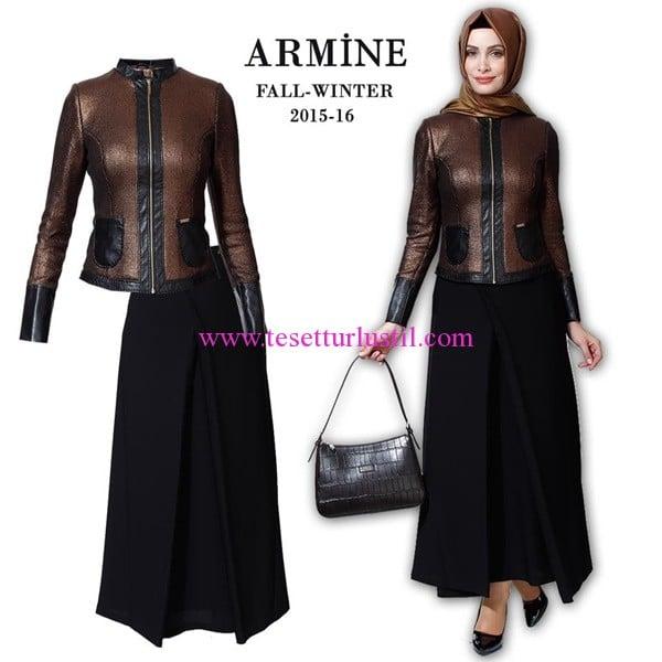Armine 2016 sonbahar-kış etek-ceket modelleri