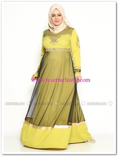 tasli-abiye-elbise-yag-yesil-jazzline-280 TL