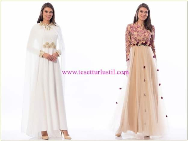 Shayan 2016 kapalı abiye nişan elbiseleri