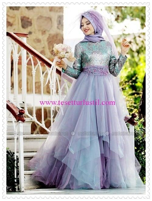 66f7b63cce2cd Gamze Polat 2016 Tesettür Abiye Düğün-Mezuniyet Elbiseleri ...