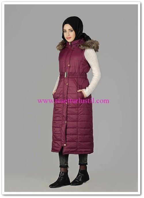Alvina-bordo-kapşonlu-kemerli-winter-safir-yelek