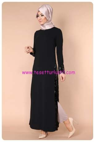 pul-payet-yirtmacli-elbise-tunik-zmn2010-siyah-modaselvim