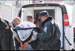 EYSC thug member arrested by D.C. police for attempting to vandalize the Eritrean Embassy in Washington D.C.