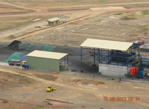 Complete Copper Concentrate Dewatering, Storage and Loadout - Aug 10, 2013