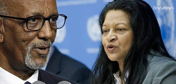 """Ms Sheila Keetharuth has joined the chorus to accuse Eritrea of """"human rights violations"""" in relation to the prolonged National Service. But crude political cherry-picking is not acceptable. And Ms Keetharuth's unsolicited & naive recommendations cannot be taken seriously. For the record, those who keep mum on Ethiopia's occupation of Eritrean lands have no moral right to preach to Eritrea on its national security architecture."""