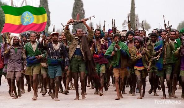 Ethiopia's trigger happy Tigray region barefoot militia bandits