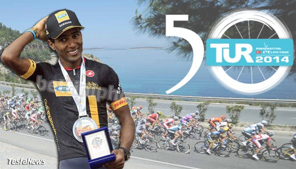 """""""His climbing abilities are obvious. That is why, in spite of his young age, we made him our leader for the Tour of Turkey, a very important race in our programme"""" - MTN-Qhubek team manager, Douglas Ryder"""