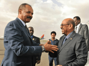 Taking the Steps needed to promote trade and bilateral cooperation between Eritrea and Sudan
