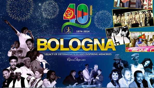 More than 10,000 Eritreans are expected to attend the 4th- 6th July celebration of Festival Bologna 40