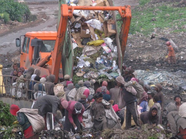 ..Why does the Ethiopian government put resources into regulating who can visit their trash dump to make sure that they don't get too much bad publicity for how their people are being treated instead of investing those resources into getting people out of the dump?
