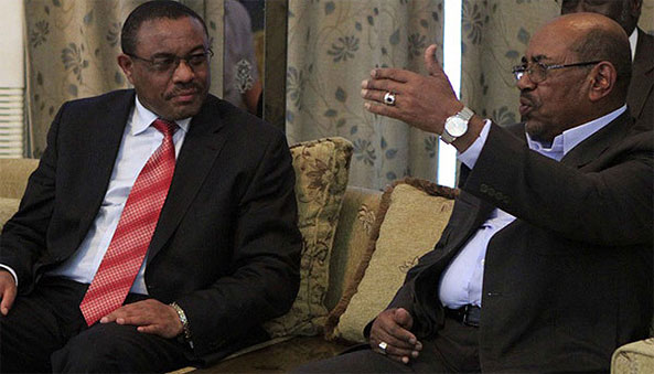Why should Sudan go against Egypt and such an array of powers to serve Ethiopia's interests