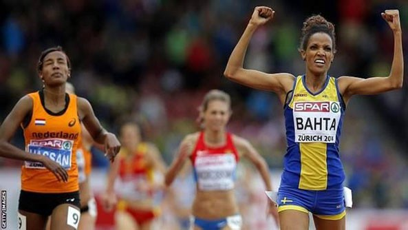 Eritrean-Swedish Meraf Bahta is Europe's 5000m Women's Final Champion