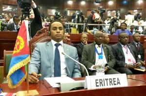 Mr. Biniam Berhe representing Eritrea at the 2nd Turkey-Africa Cooperation Summit