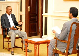 President Isaias Afwerki gave an interview with the Eri-TV mainly focusing on domestic affairs in connection with the New Year.