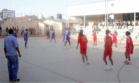 """Volleyball: Eritrea Launch """"African Dream Project"""""""