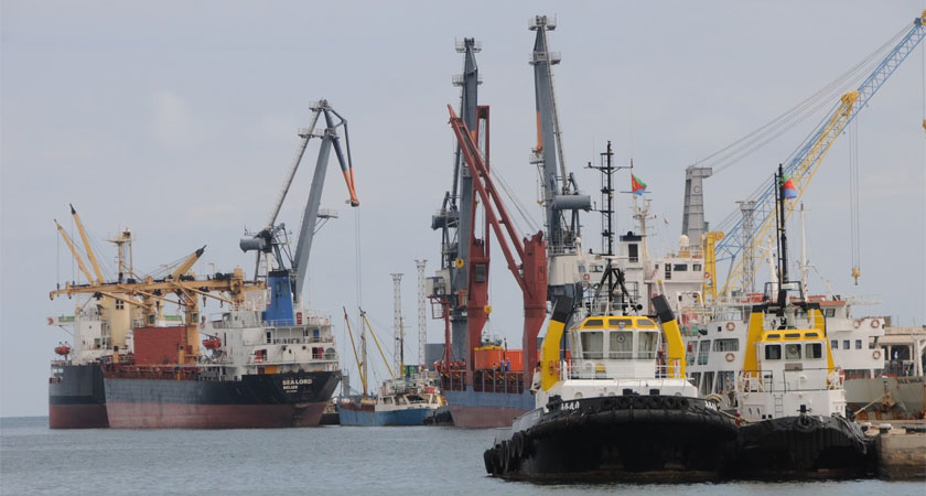 A new multi-million dollar port in Massawa