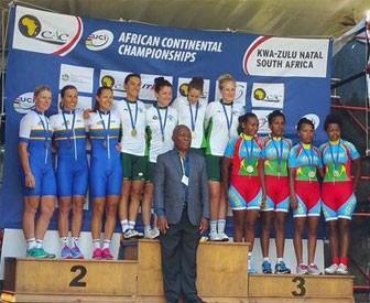 Our Women's Elite team standing tall against established pros - Bronze at TTT