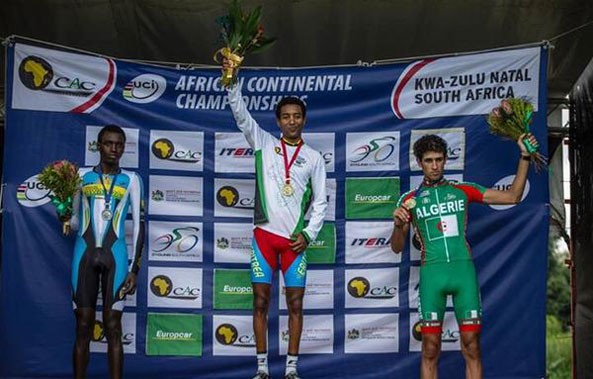 Merhawi Kudus and Ethiopian Tsgabu Grmay won Gold at today's U23 and Elite Men's race