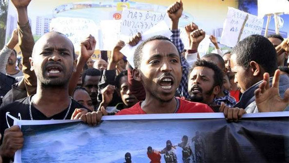 Anti-ISIL Protest in Ethiopia Turns Violent (VIDEO)
