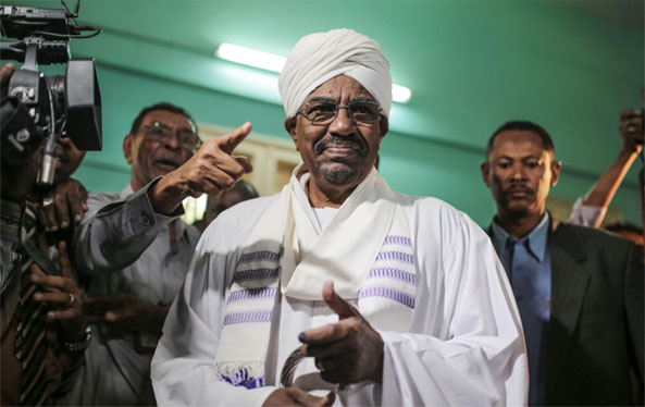 President Al-Bashir Reelected with 94% of Vote