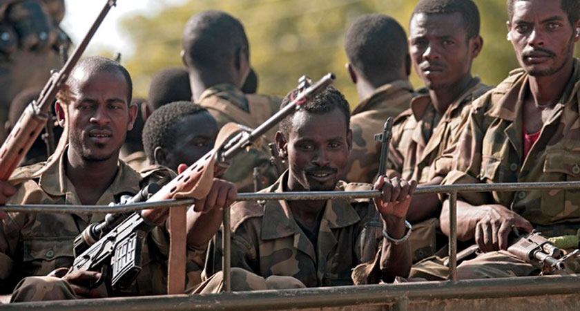 Invading Ethiopian army have crossed the border into Kenya