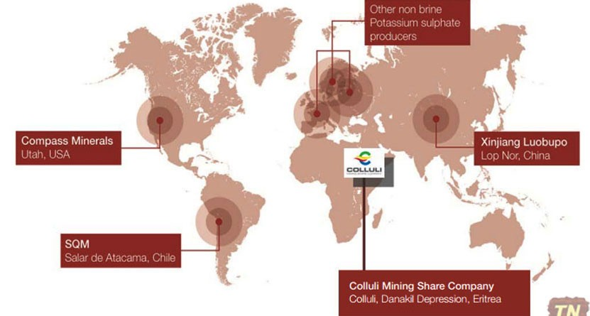 Key SOP Production Centres of the world