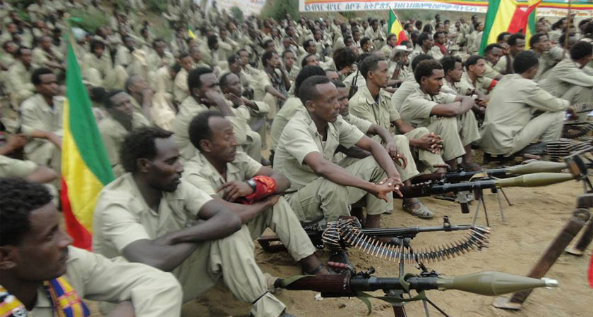 Ethiopia's peaceful uprising is quickly evolving into an armed uprising