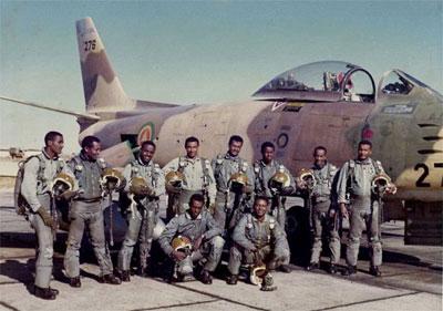 Ethiopian Air Force pilots