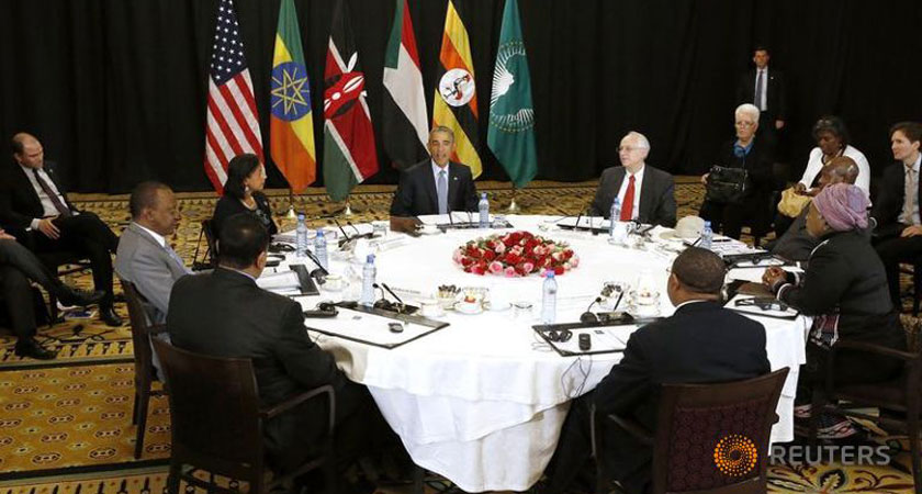 Juba Upset After Being Excluded from Obama-IGAD Meeting on South Sudan