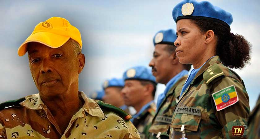 Colonel Abdirahman Abdi Dimbil, accuse Ethiopian forces in Somalia of hidden agenda
