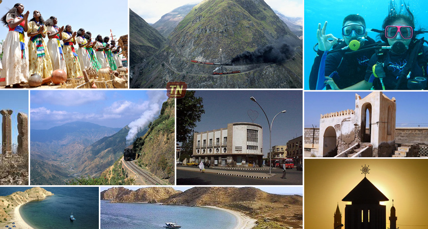 How many of you from the Eritrean Diaspora are guilty of of 'travelling without seeing'? Tourism Eritrea