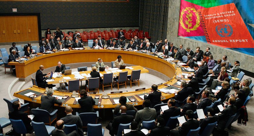 Ambassador Girma's Interaction with the UN Sanctions Committee – 9th October 2015