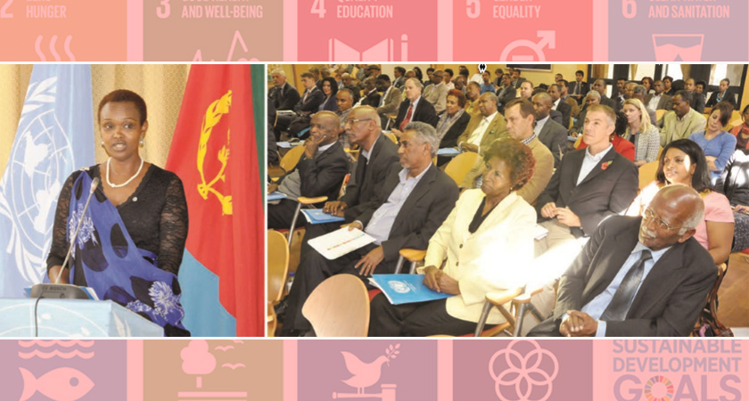 UN Hosts Event on Eritrea's Transition from MDGs to SDGs
