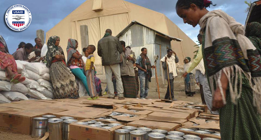 US Gives Ethiopia $137m to Feed Drought Victims