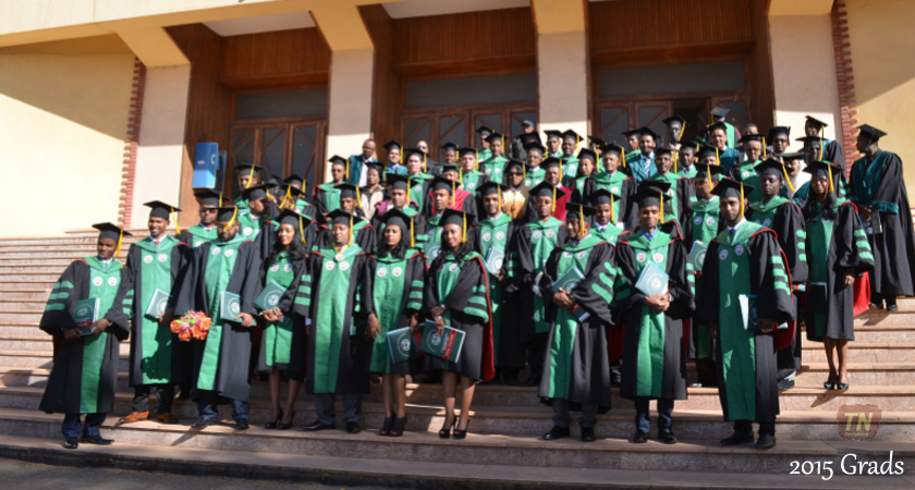 The 2015 Graduates of Orotta School of Medicine and Dentistry