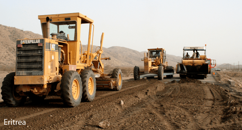 Eritrea road renovation, and expansion for regional integration and development