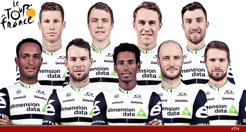Team Dimension Data Picked Two Eritrean Riders for Tour de France