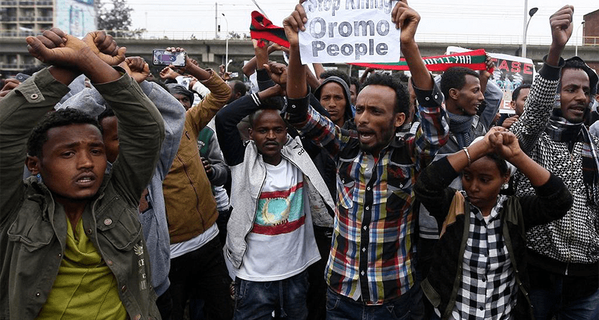 The Oromo youth is ready to fight on until all Oromos are free.