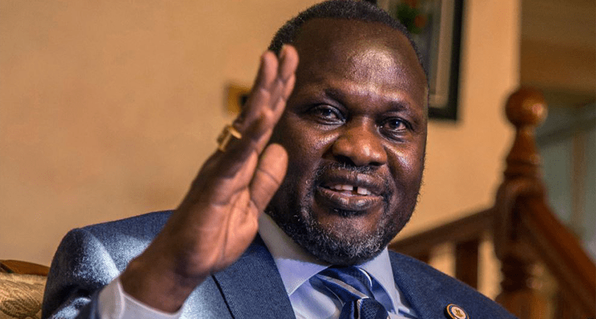 Juba Makes Formal Protest to Khartoum Over Machar's Presence