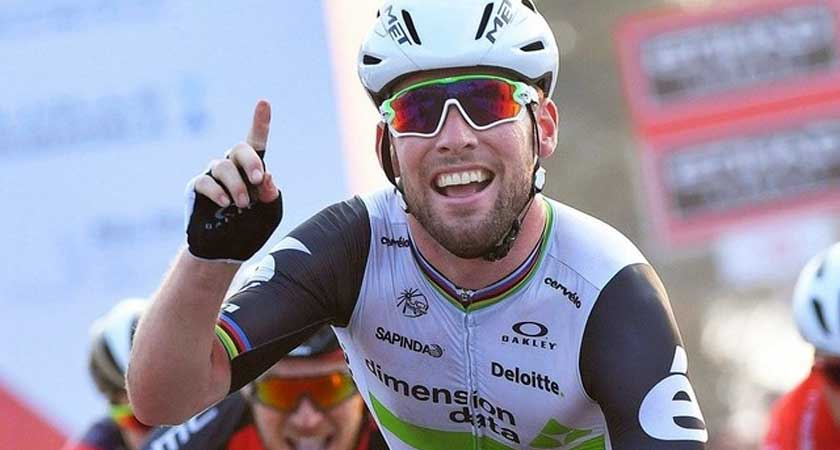 Mark Cavendish Abu Dhabi Tour