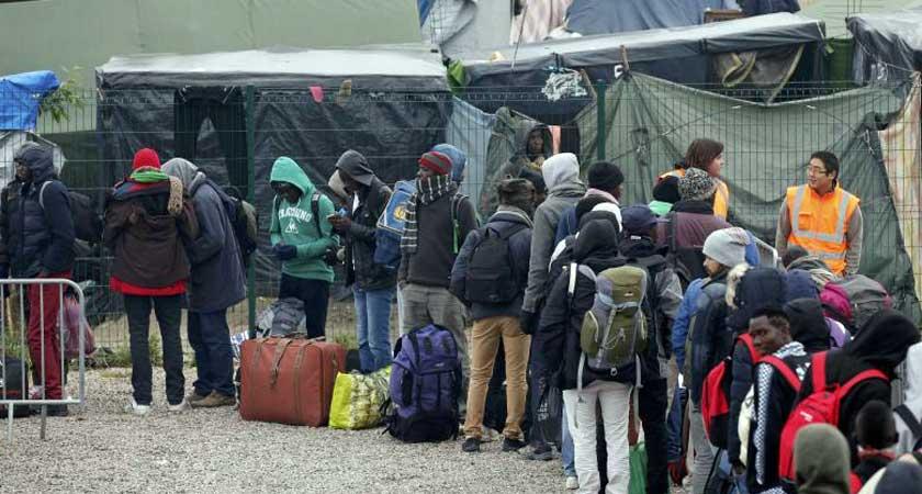 facing eviction from Calais camp