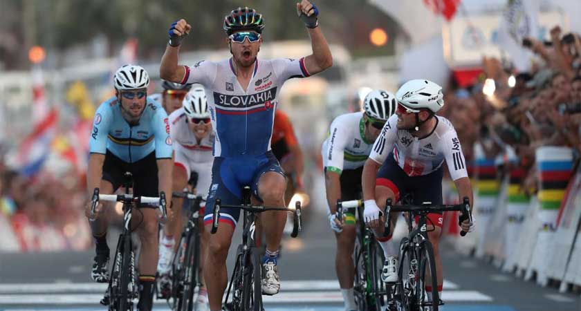 Natnael Finishes 13th at UCI World Road Race Championships in Doha