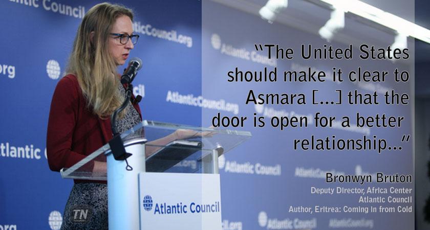 Expert Argue Improving Relation with Eritrea in United States' Strategic Interest