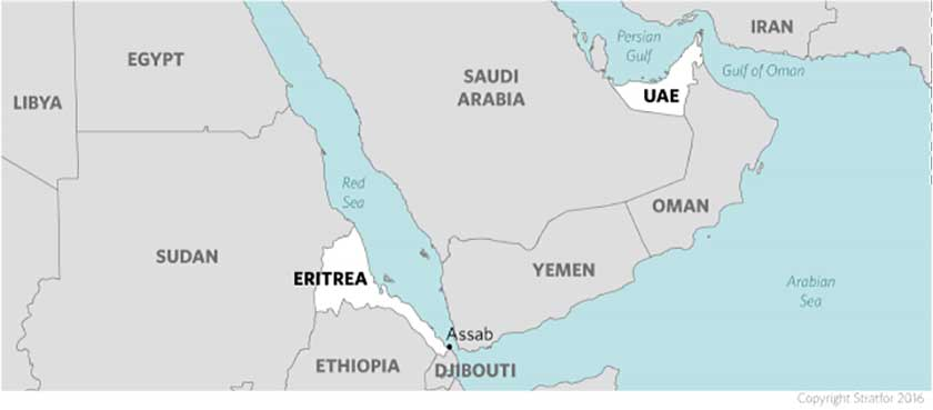 Analysis Of The UAE Military Base In Assab Eritrea - Map of egypt and uae