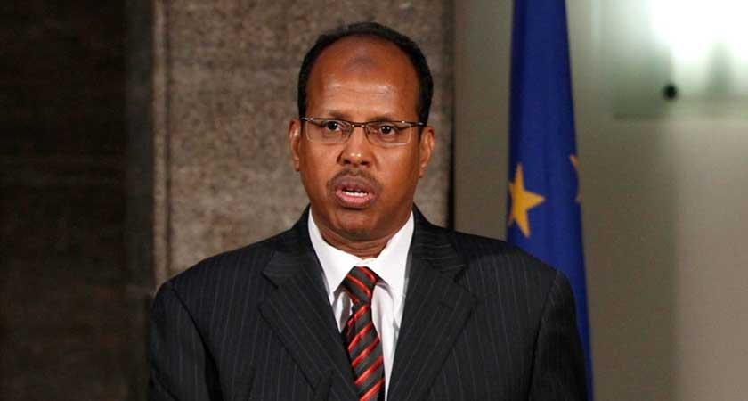 Djibouti's Foreign Minister Mahamoud Ali Youssouf