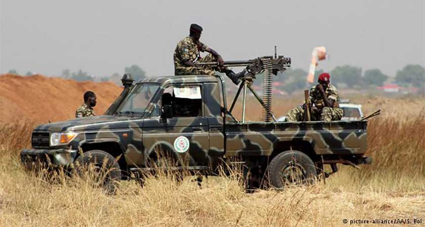 South Sudan arms embargo rejected