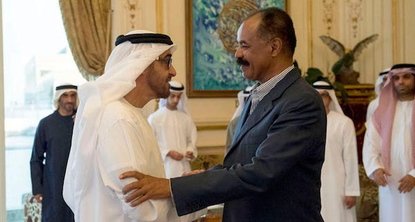 Mohammed Bin Zayed Receives Eritrea President