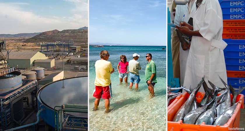 Eritrea economy growth on manufacturing, tourism and fishery