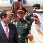 <Egypt&rsquo;s Sisi Visits Saudi Arabia as Tensions Ease
